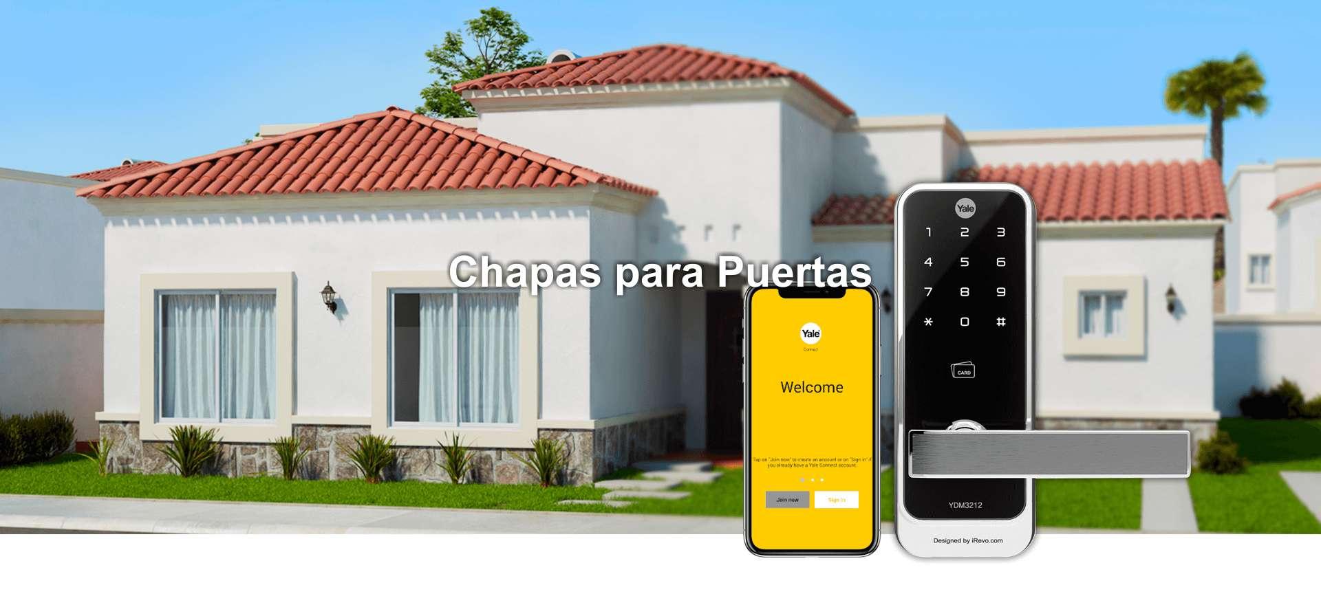 Chapas y Cerraduras Electrónicas para Puertas en Ixtapa Zihuatanejo, Guerrero y Lázaro Cárdenas, Michoacán