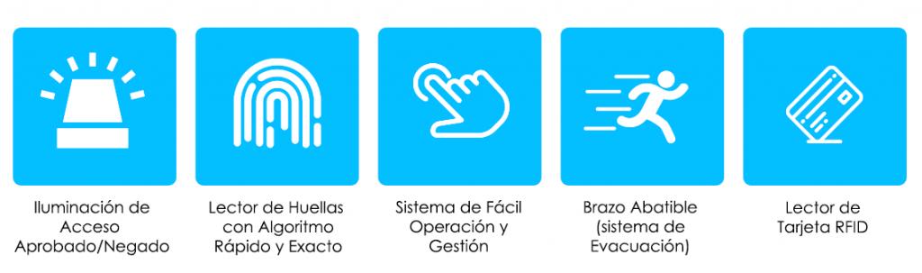 Venta, Instalación y Mantenimiento de Torniquetes para Control de Acceso en Ixtapa Zihuatanejo, Guerrero